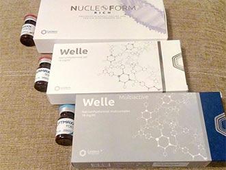 """В салоне красоты """"ЛЭРИ"""" появились новые препараты компании Leistern Pharmaceutical (Германия)."""