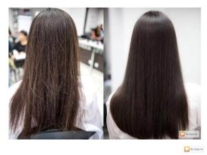 полировка волос 2